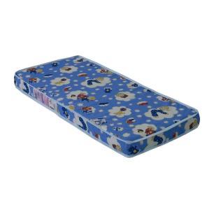 Mini Cama Pirulito com colchão Multimóveis 100% MDF Azul