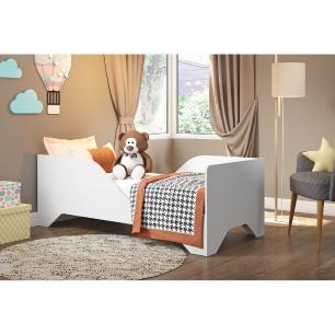 Cama Infantil para colchão 70 x 150 cm 100% MDF Soninho Multimóveis Branca