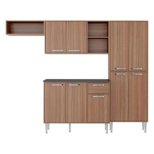 Cozinha Compacta Xangai 9 Portas Multimóveis Nogueira