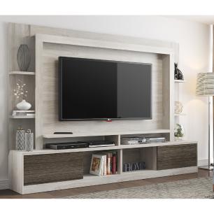 Estante Multimóveis para TV 55 Polegadas com Nicho - Carvalle/ Tenerife REF. 2747