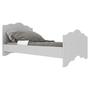 Berço Americano 3 em 1 para Colchão 70 x 130 cm com Grade Soft Nuvem Multimóveis Branco  INMETRO 000941/2020