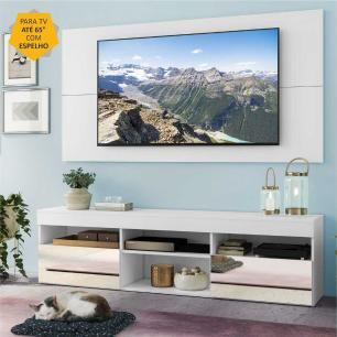 Rack com Espelho, Painel TV 65