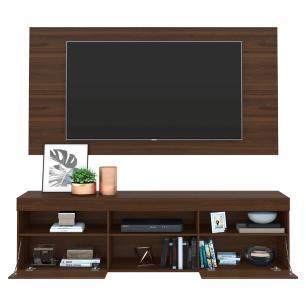 Painel TV até 65 polegadas com Rack Suspenso Flórida Multimóveis Duna