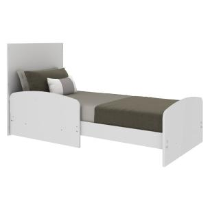 Berço 3 em 1 para Colchão 60 x 130 cm com Grade Soft Multimóveis Branco