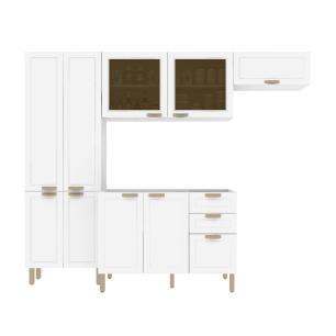 Cozinha Completa 4 peças Americana Multimóveis 5681 Branco