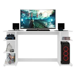 Mesa Gamer Escrivaninha Guilda Multimóveis Branca