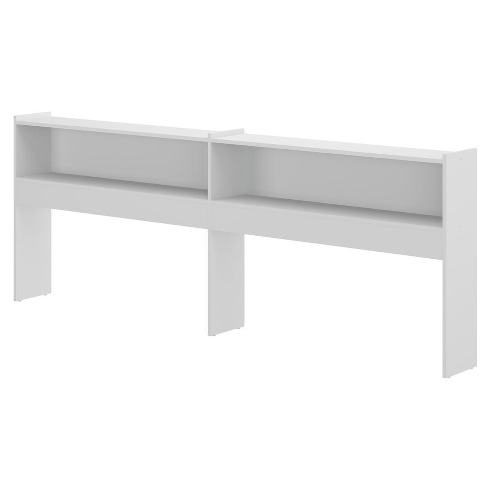 Prateleira Lateral Multimóveis para Cama / Bicama Branca  REF.5010