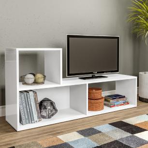 Rack Multimóveis para TV de 32 Polegadas com Nicho - Branco REF. 2852.156