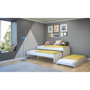 Tricama para colchão 88 x 188 cm Multimóveis Branca