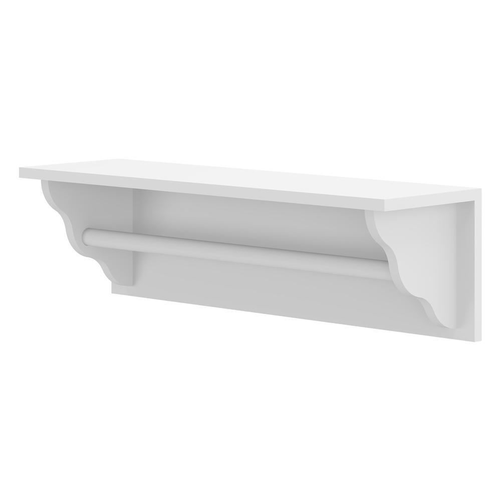Porta Fraldas Multimóveis 100% MDF Branco REF.2317