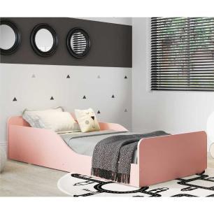 Cama Montessoriana Multimóveis 100% MDF para colchão 150x70cm Rosa