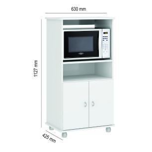 Armário Multimóveis Multiuso para Forno e Microondas Branco REF.6148G