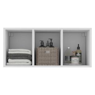 Nicho Decorativo  33 x 67 cm para Banheiro/Lavanderia Multimóveis Branco