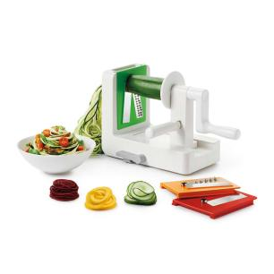 Fatiador Espiral para Legumes com 3 Lâminas em Aço Inox OXO