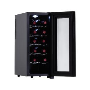 Adega de Vinho 12 Garrafas Termoelétrica JC-33c 127V Easy Cooler Preta