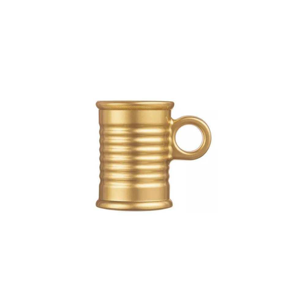 Xícara 90ml Conserve Moi Dourada