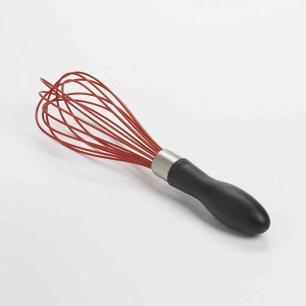 Batedor em Silicone 22cm OXO Vermelho