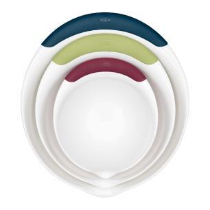Conjunto de 3 Tigelas OXO Brancas