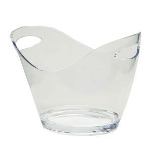 Champanheira em Acrílico Colours 6,5 litros Kenya Transparente