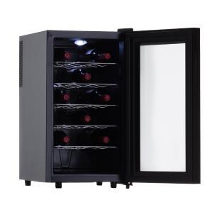 Adega de Vinho 18 Garrafas Termoelétrica JC-48g 127V Easy Cooler Preta