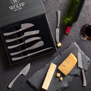Conjunto de 5 Facas para Queijo Oxford Wolff