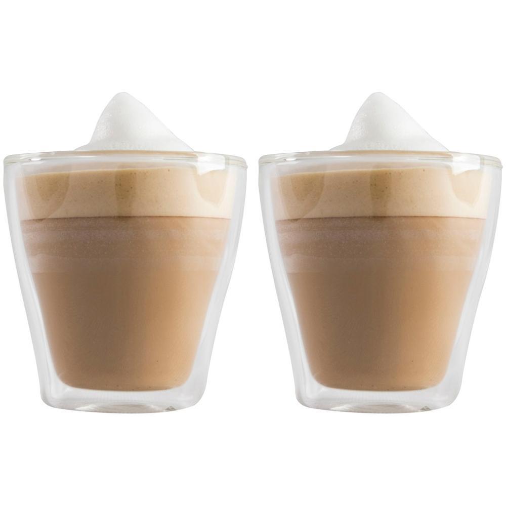 Conjunto de 2 Copos em Vidro Hot Cold Blend 150ml Kenya