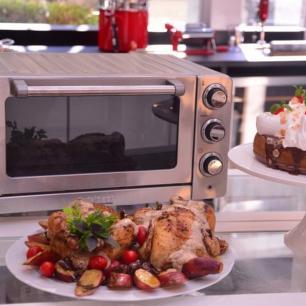 Forno Elétrico em Aço Escovado Tob 60nbr 127V Cuisinart