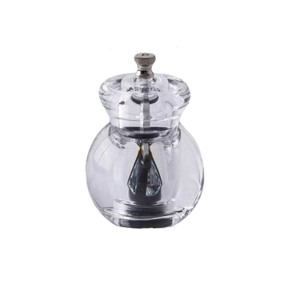 Moedor para Pimenta em Acrílico 11cm Bounce Maxwell Williams Transparente