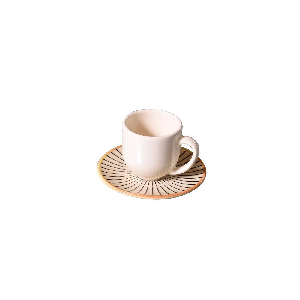Xícara de Café Coup Manhattan em Cerâmica 112ml Porto Brasil
