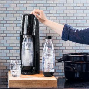 Máquina para Gaseificar Água Fizzi Sodastream Preta