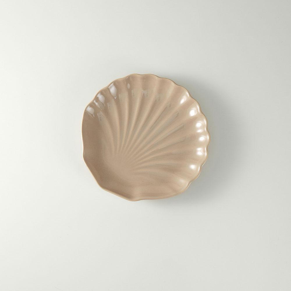 Prato de Sobremesa 19,5cm Ocean Rita Lobo Noz Moscada