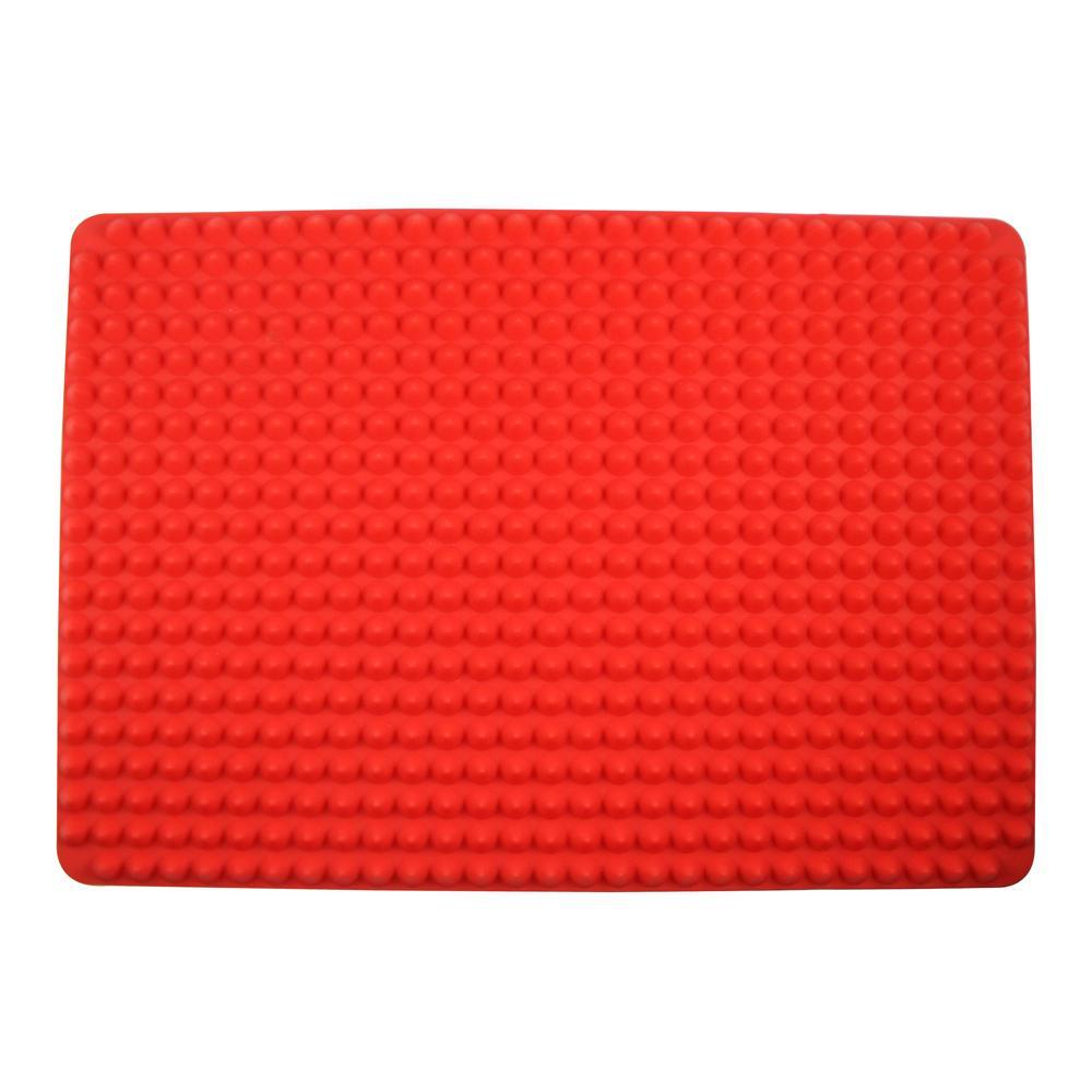 Tapete para Forno em Silicone 29cm x 19cm Kenya Vermelho
