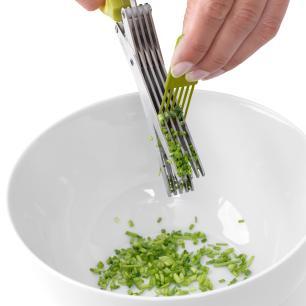 Tesoura para Ervas em Aço Inox Brabantia Verde