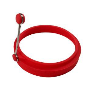 Anel para Ovos e Mini Panquecas em Silicone 10cm Kenya Vermelho