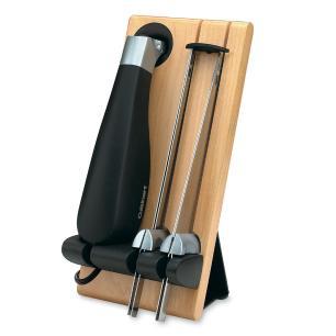 Faca Elétrica em Aço Inox com Suporte 127V Cek 40br Cuisinart