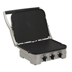 Grill Panini em Aço Escovado Gr-4nbr 127V Cuisinart