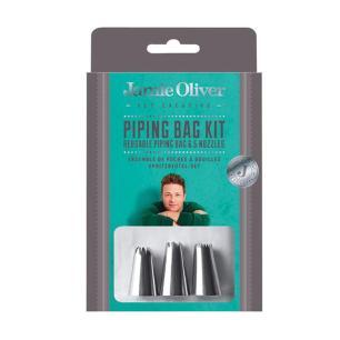 Conjunto de Bicos para Confeitar em Aço Inox Jamie Oliver