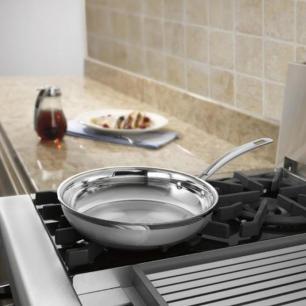Frigideira em Aço Inox 25cm Professional Cuisinart