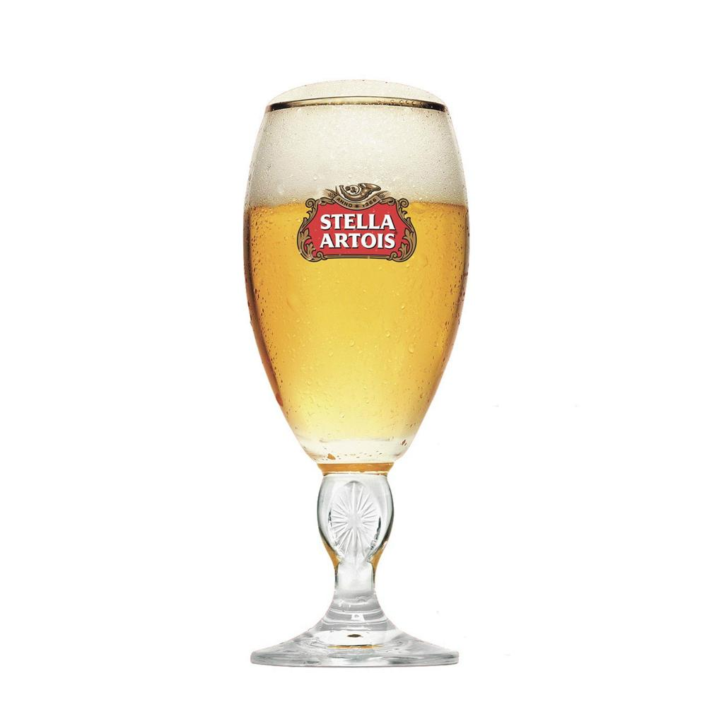 Taça para Cerveja em Vidro 250ml Stella Artois