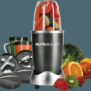 Liquidificador de Nutrientes com 8 Peças NBR-0844 220V Nutribullet Preto