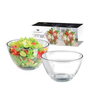 Conjunto de 2 Saladeiras em Vidro Reggio 460ml Ruvolo