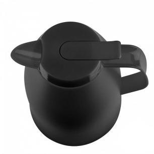 Garrafa Térmica de 1 Litro Quick Tip Mambo Emsa Preta