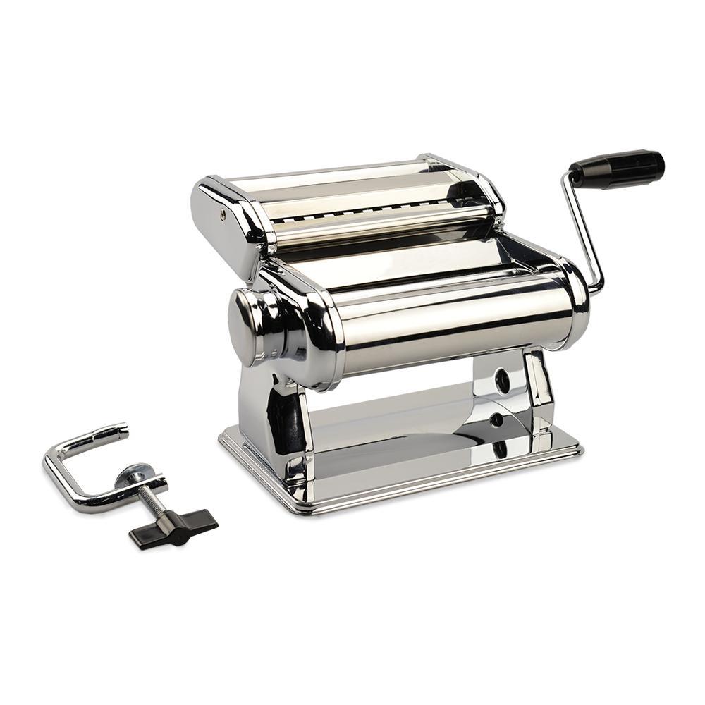 Máquina de Pasta Manual Verona em Inox Brinox Prata