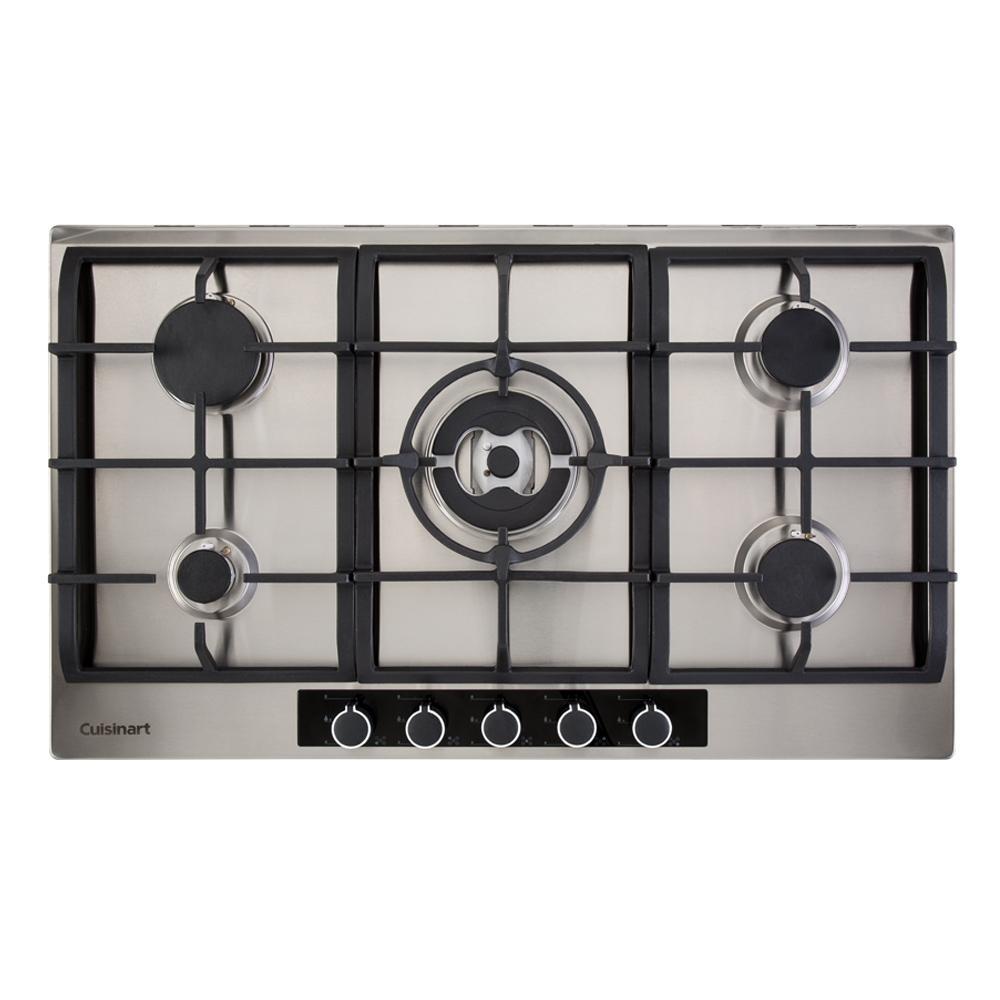 Cooktop a Gás com 5 Queimadores 90cm Casual Cooking 220V Cuisinart
