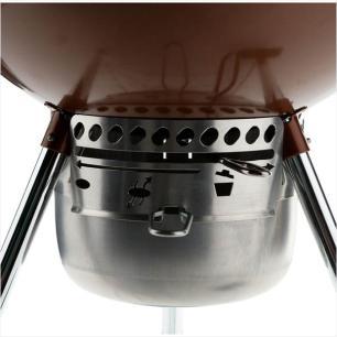Churrasqueira a Carvão Original Kettle Premium 57cm Weber Cobre