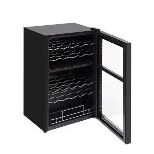 Adega de Vinho com Compressor 33 Garrafas Dual Zone 220V Easy Cooler