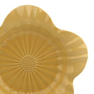 Travessa em Cerâmica Campestre 42,5cm Rita Lobo Cúrcuma