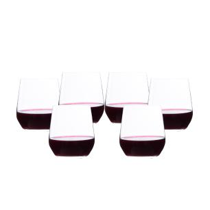 Conjunto de 6 Copos Baixo para Vinho Carbernet Reserve 455ml Spicy