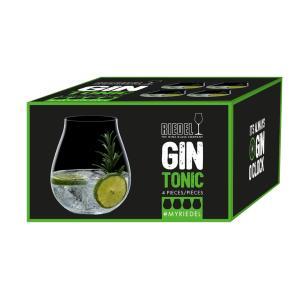 Copo de Gin O Clock Conjunto com 4 Peças 760ml Riedel