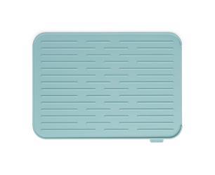 Tapete Escorredor de Louça em Silicone 32,5cm Brabantia Azul